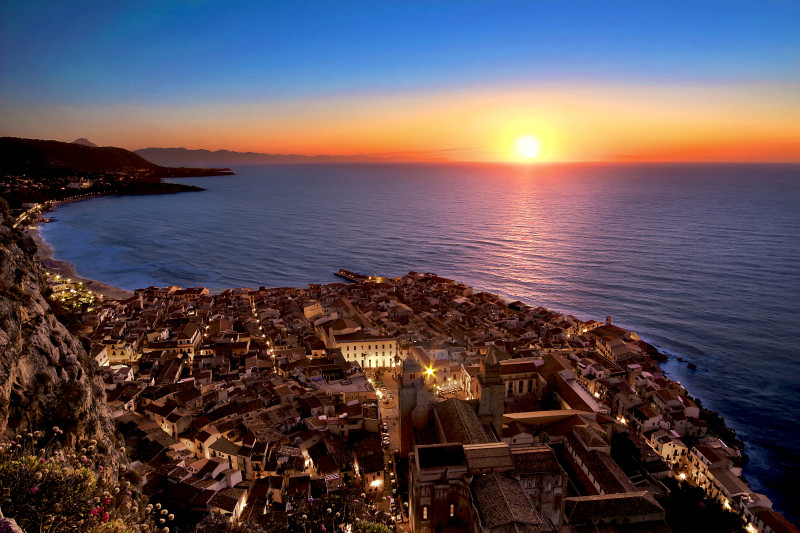 Cefalù Tramonto – Sicilia