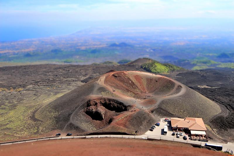 Crateri Silvestri – Vulcano Etna