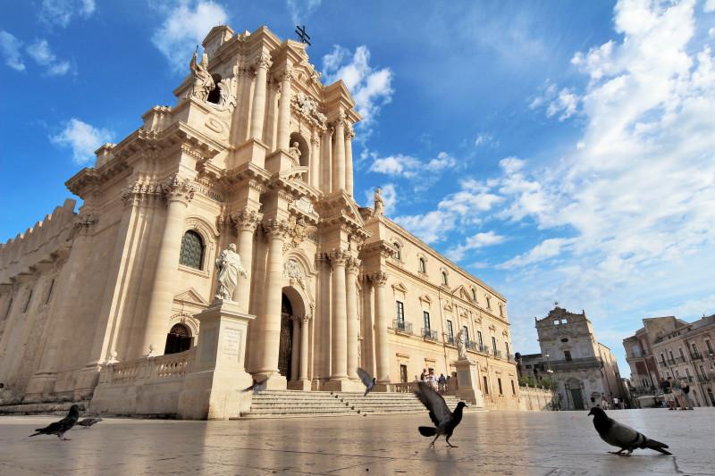 Piazza Duomo – Siracusa – cliente Comune Siracusa