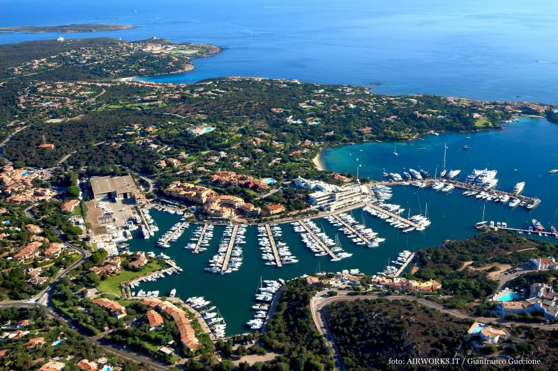 Marina di Porto Cervo – Costa Smeralda – fotografata con drone