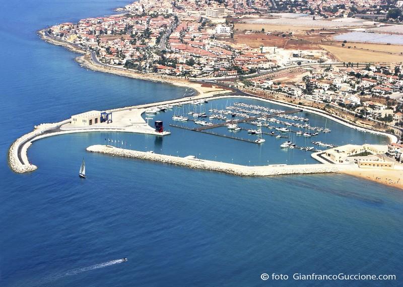 Porto Turistico Marina di Ragusa- fotografato con drone