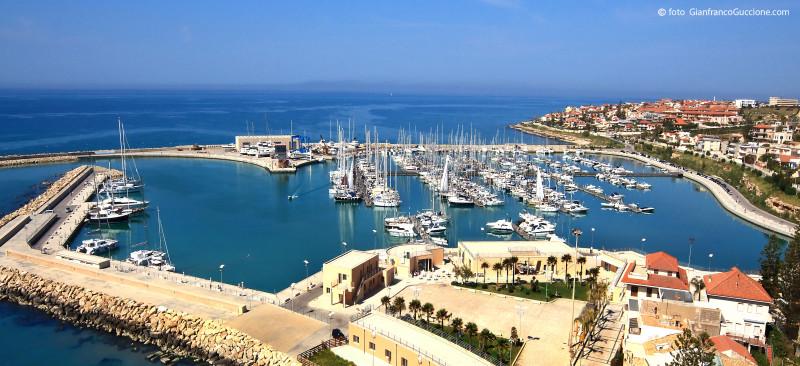 Porto Turistico Marina di Ragusa – foto aerea effettuata con drone