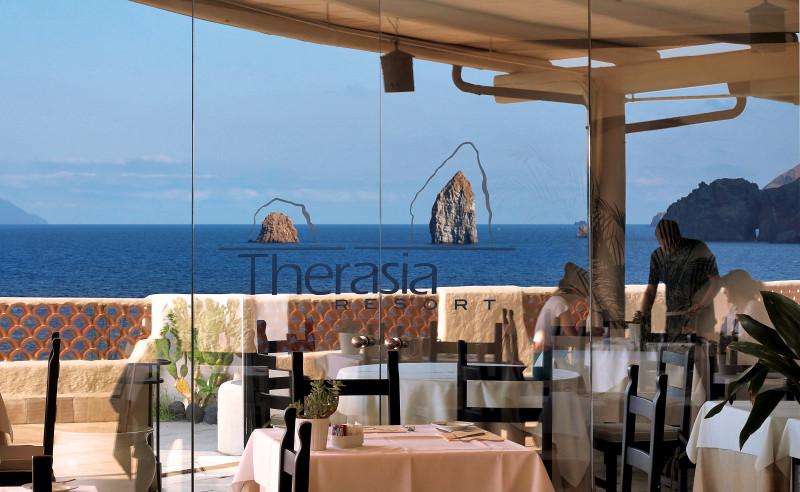 Therasia Resort – Ristorante – Vulcano – Isole Eolie