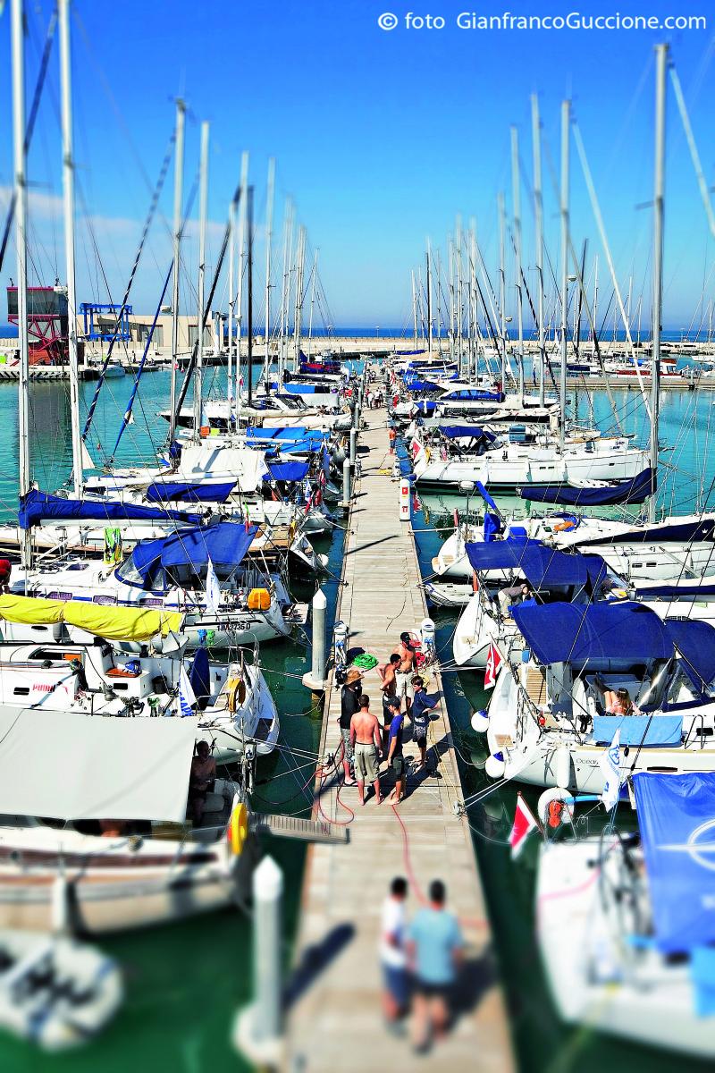 Porto Turistico Marina di Ragusa – fotografato con drone