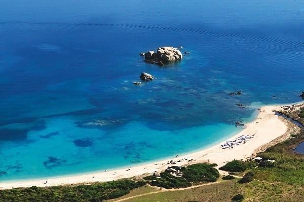 Valle dell'Erica 5*****- cliente Delphina – Sardegna – fotografata con drone e Canon 5D Mark III