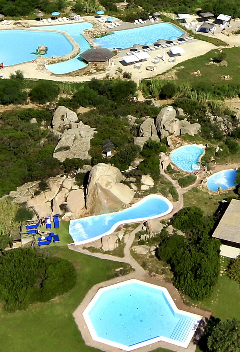 Valle dell'Erica 5*****- Gruppo Delphina – Sardegna – foto con drone